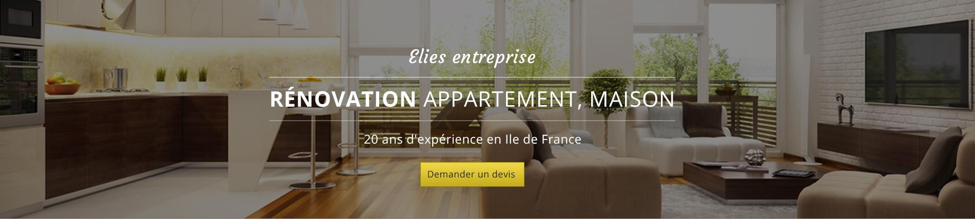 elies entreprise de r novation paris 16 gentilly le raincy 93 94. Black Bedroom Furniture Sets. Home Design Ideas